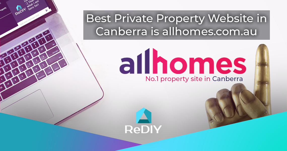 Best Private Property Website Canberra allhomes.com.au