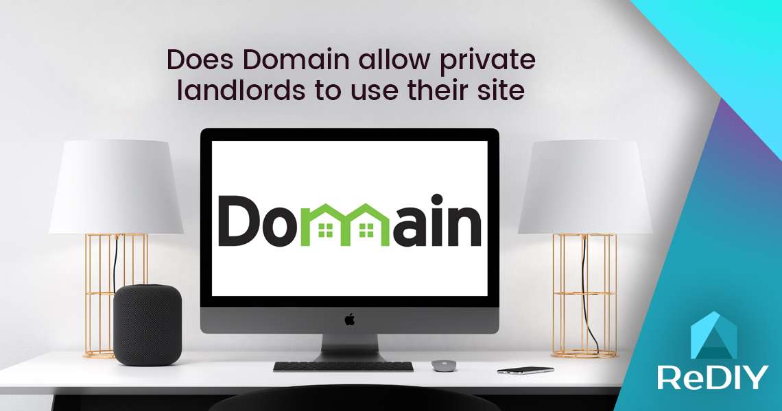 Does Domain allow private landlords to use their site