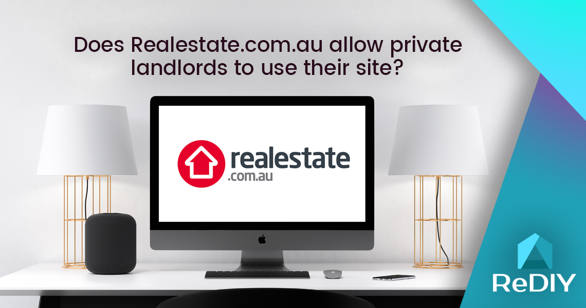 Does Realestate.com allow private landlords to use their site?