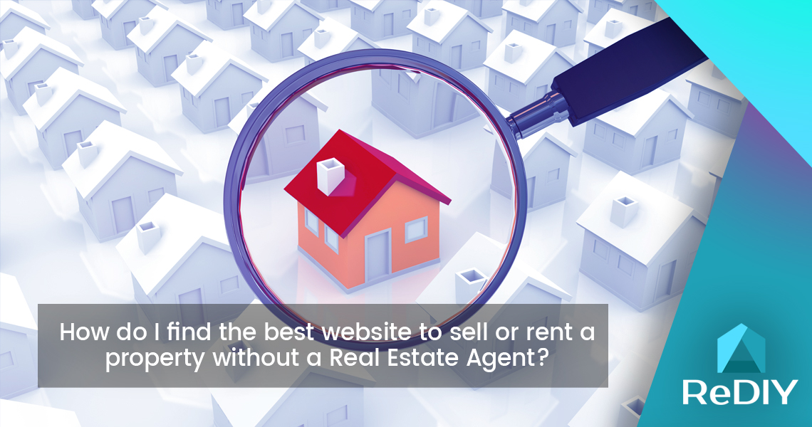 How do I find the best website to sell or rent a property without a Real Estate Agent?