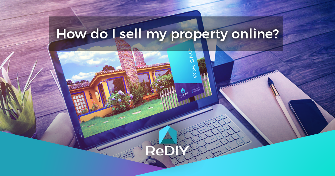 How do I sell my property online?