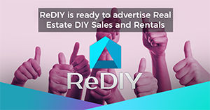 ReDIY is ready to advertise Real Estate DIY Sales and Rentals