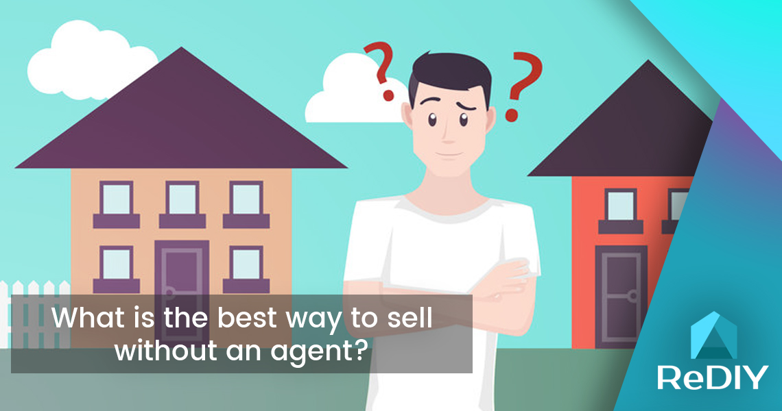 What is the best way to sell without an agent?