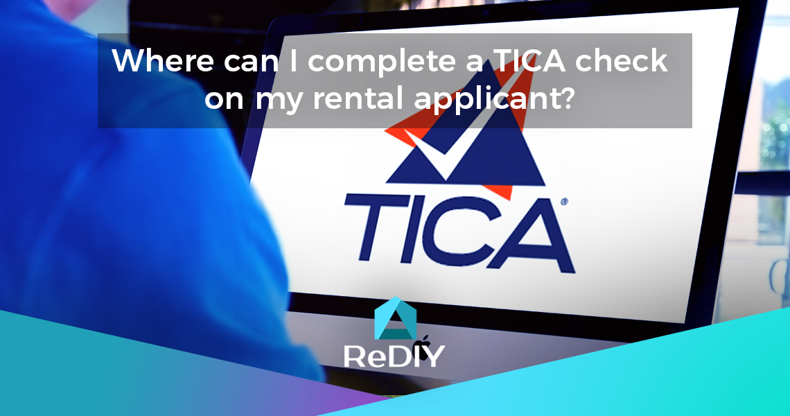Where can I complete a TICA check on my rental applicant?