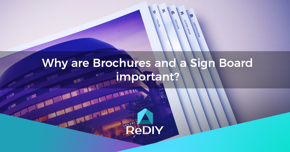 How do Brochures benefit Private Sale or Rental?