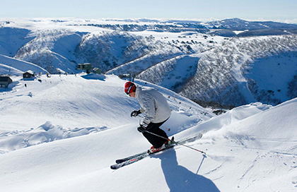 Ski at Mt Hotham