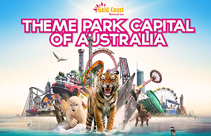 theme park capital of australia