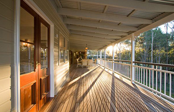 verandahs for the climate