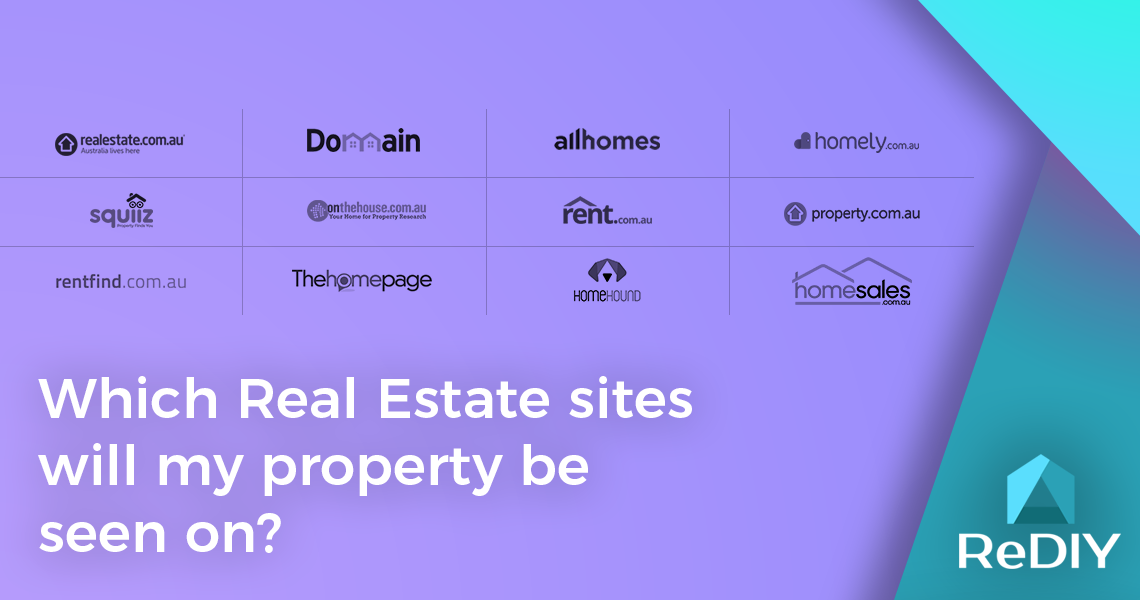 Which Real Estate sites will my property be seen on?